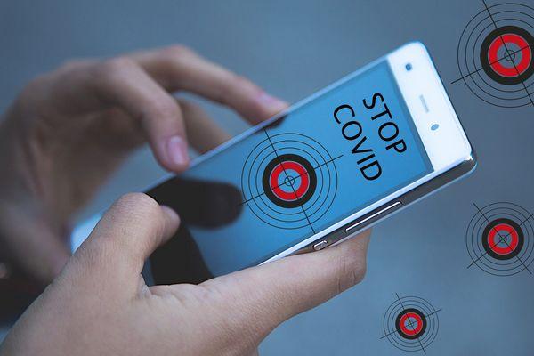 L'application de traçage numérique Stop Covid a été annoncée par le gouvernement pour accompagner le déconfinement. (Illustration)