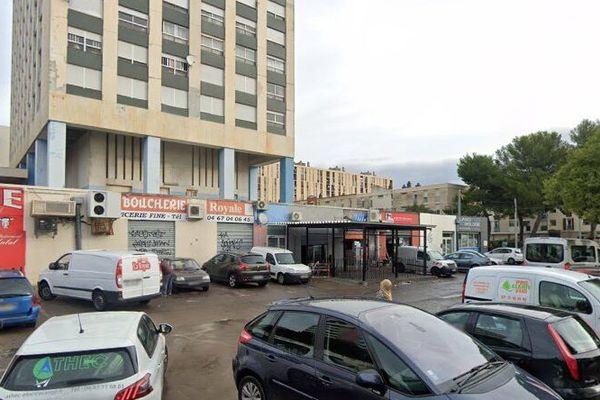 Les faits se sont produits au niveau de l'avenue Barcelone, située dans le quartier de La Mosson à Montpellier - 05.06.20