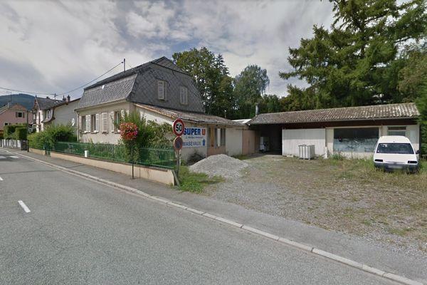 L'appel aux pompiers a été passé du 17 route Joffre, à Masevaux.