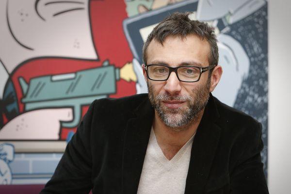 Stephane Beaujean directeur artistique du Festival International de la Bande Dessinée FIBD