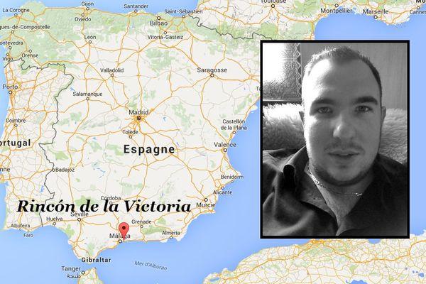 Le suspect Antoine Denevi a été arrêté à Rincón de la Victoria, une station balnéaire proche de Malaga (Espagne)