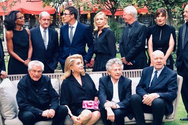 Les anciens présidents de jury invités au Festival de deauville pour fêter les 25 ans de compétition