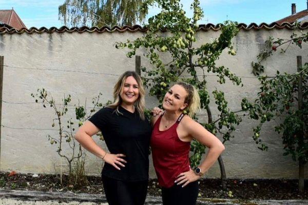 Justine Graziani et Margaux Jacquel se préparent pour l'aventure malgré le confinement