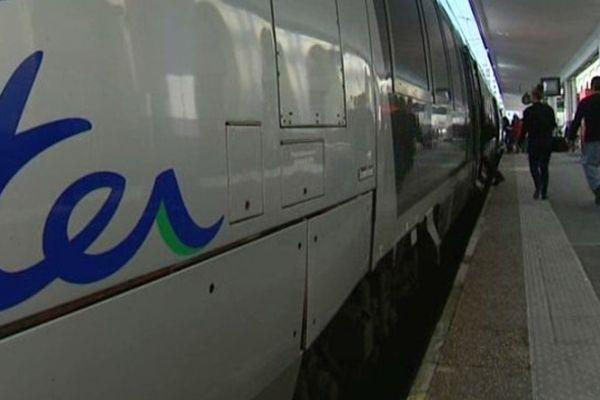 Le mouvement de grève concerne les TER d'Auvergne et, dans une moindre mesure, la région Bourgogne.