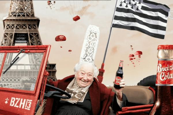 La marque Breizh Cola a su jouer avec humour son identité bretonne pour conquérir le marché national.