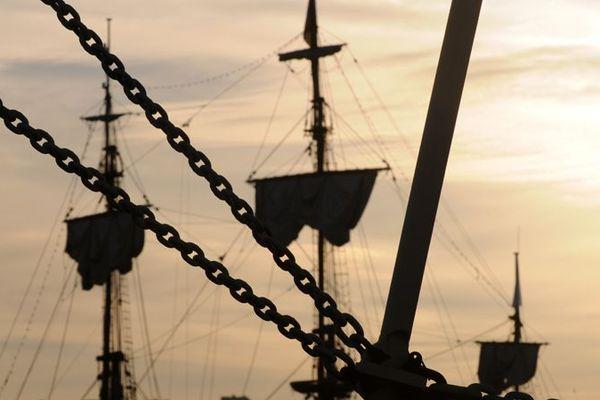L'Armada au petit matin