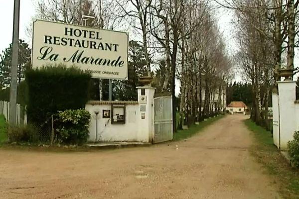 La Marande est situé en Mâcon et Tournus en Saône-et-Loire, à Montbellet