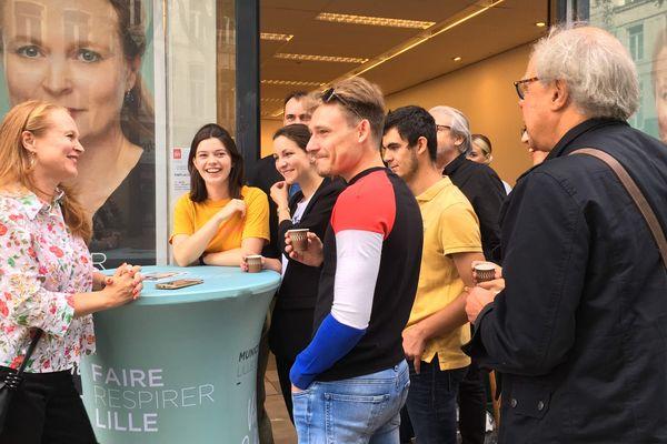 Violette Spillebout a congédié son directeur de campagne après qu'il a été accusé de lobbying.