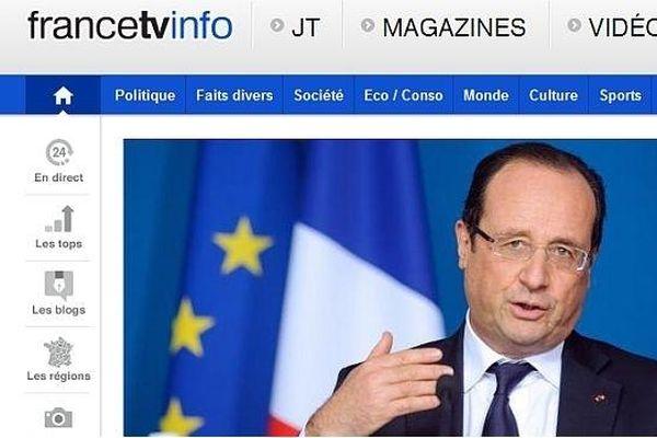 Francetvinfo propose un nouveau fil d'information et d'analyse interactif, à l'occasion de la conférence de presse du président de la République, jeudi 16 mai 2013.
