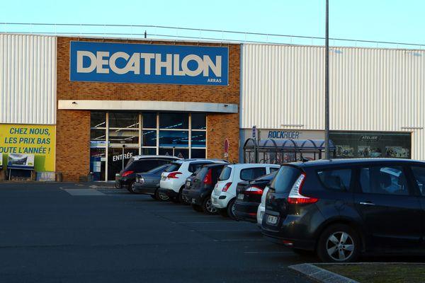 Un magasin Décathlon à Arras