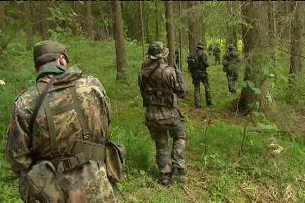 La Brigade franco-allemande était en exercice en Forêt-Noire.