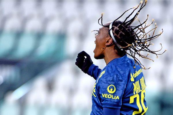 Buteuse lors du match aller en Italie le 9 décembre 2020, Melvine Malard a une nouvelle fois contribué à la victoire de l'Olympique Lyonnais Féminin, synonyme de ticket pour les 8èmes de finale de la Ligue des Champions. Les Lyonnaises ont battu les Turinoises de la Juventus, 3 buts à 0, en match retour le 15 décembre.