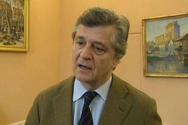 Nicolas Forissier maire sortant - candidat UMP