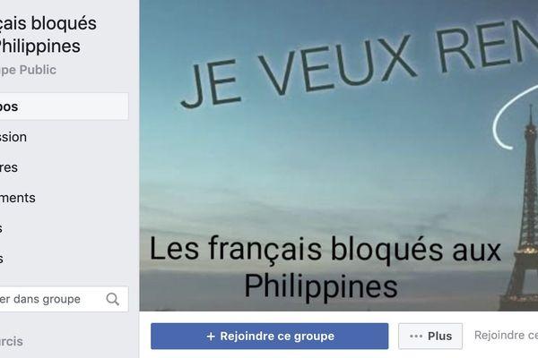 Groupe francophone a été créé pour aider les français/belges/suisses et luxembourgeois bloqués aux Philippines