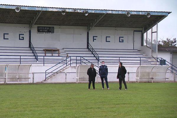 Le FC des Graves espère pouvoir reprendre l'entraînement et se préparer à la coupe de France.