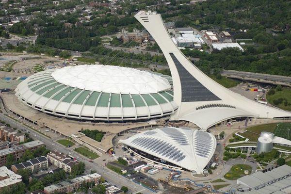 Le stade olympique de Montréal est le plus célèbre de ses chantiers.