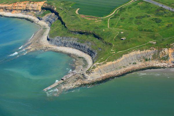 Une personne s'est retrouvée isolée par la marée dans le secteur de la pointe de la Crèche à Boulogne-sur-Mer.