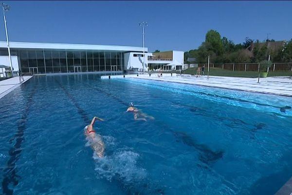 La nouvelle piscine Aquapôle d'Amiens lors des portes-ouvertes