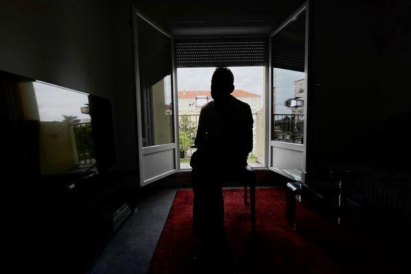 Man, dans son appartement de Châlons-en-Champagne, en août 2021.