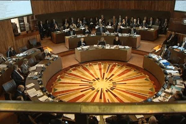 Dernière session du Conseil général du Calvados ce lundi 19 janvier