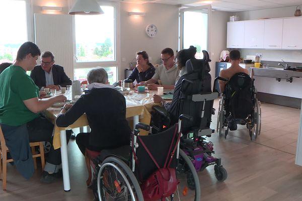 Une colocation inclusive, le choix de l'autonomie et de la solidarité, Villeurbanne 20 septembre 2021