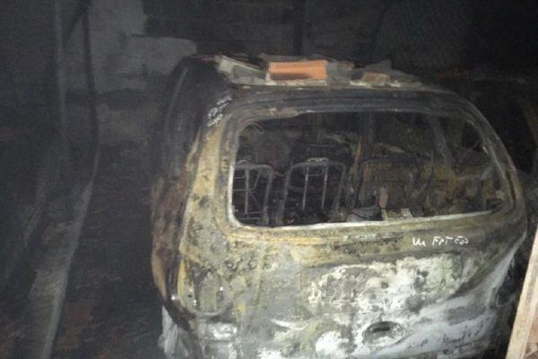 A Vichy, un incendie a brûlé plusieurs voitures dans un parc de stationnement ce samedi 5 décembre.