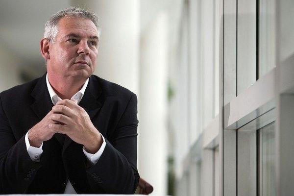 Thierry Lepaon, futur secrétaire général de la CGT, le 9 octobre 2012