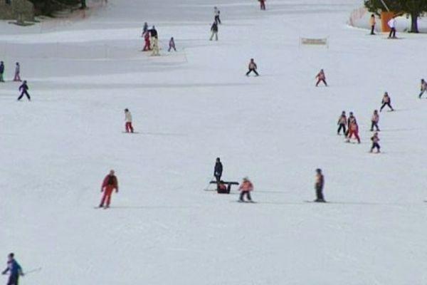 Les pistes de ski sont particulièrement fréquentées depuis le début de la saison dans les Pyrénées Catalanes.