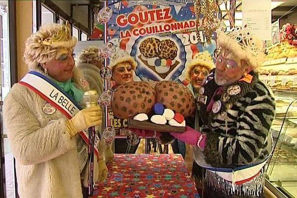 """Les """"Comtesses"""" présentent leur dernière création pâtissière."""