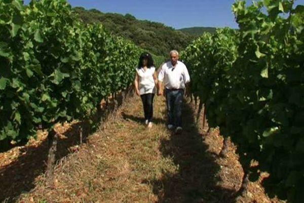Yasmina et Fabrice : la belle histoire d'un couple devenu vigneron par amour du vin et des vignes à Montpeyroux, dans l'Hérault