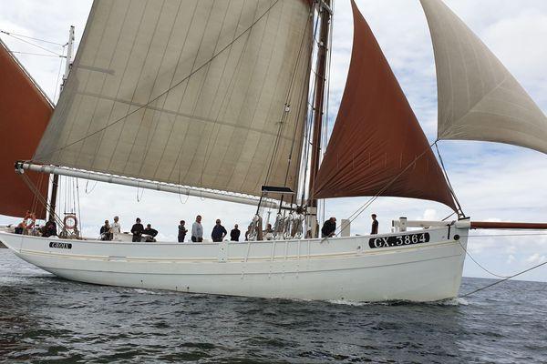 Le thonier à voiles de l'île-de-Groix a repris la mer. Cet été, il naviguera surtout dans la rade de Lorient