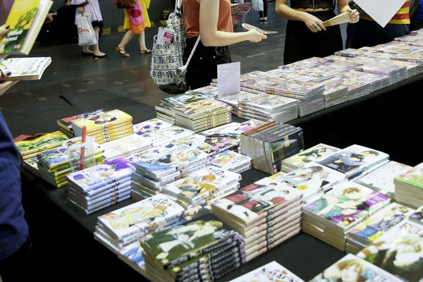 Japan Expo à Villepinte en 2016
