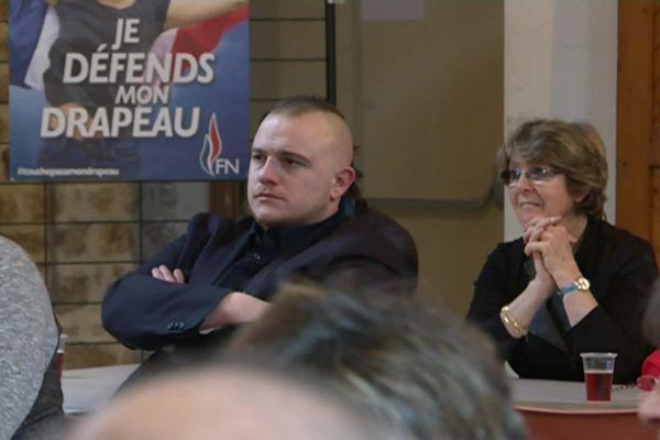 Sébastien Dudognon est l'ancien secrétaire départemental du FN jeunesse en Corrèze (Archive 2018).