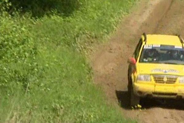 La compétition du week-end compte pour les championnats de France de rallye