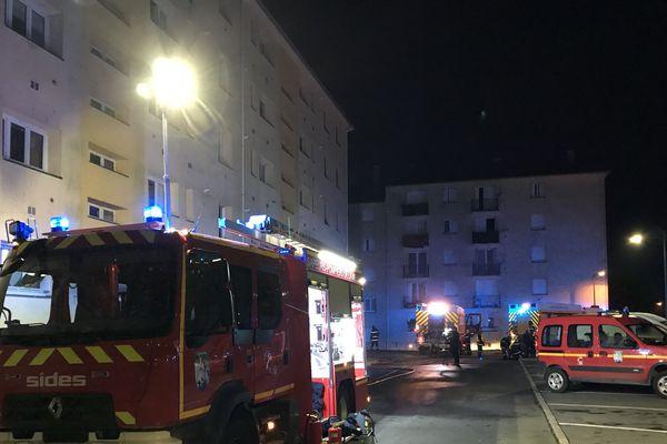 14 personnes ont été évacuées par les pompiers
