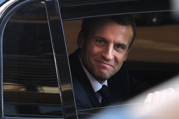 Dernier passage d'Emmanuel Macron dans les Vosges, le 19 avril 2018.