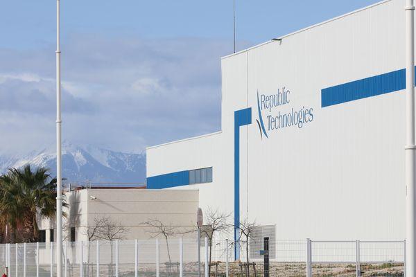 A Perpignan, l'entreprise Republic Technologies a produit un million de lingettes désinfectantes.