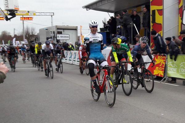 C'est l'Italien Matteo Moschetti qui remporte la quatrième étape du Tour de Normandie 2018