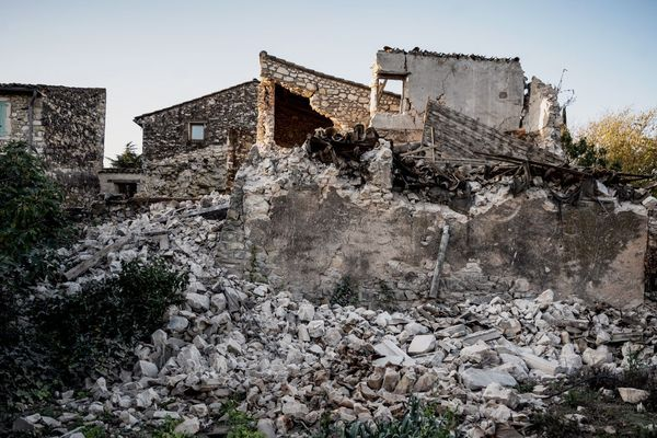 Le Teil (Ardèche) après le tremblement de terre du 11 novembre 2019