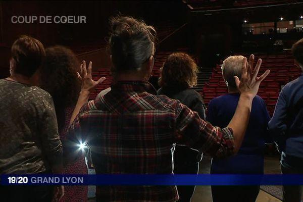 Maison de la Danse - les ateliers avant la représentation en audiodescription