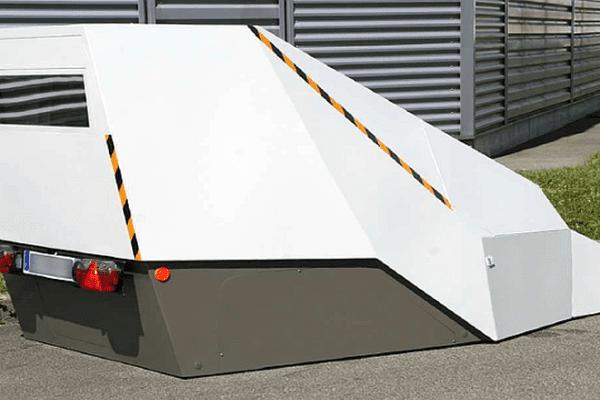 Le radar chantier ou radar autonome de l'Hérault - 2015.