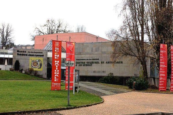 Les bâtiments de la Scène Nationale à Aubusson