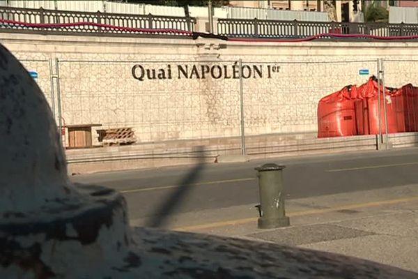 Nice : le quai Cassini devient le quai Napoléon 1er