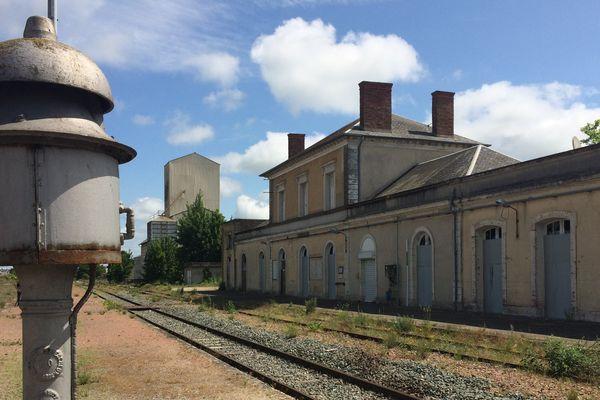 La gare de Pithiviers, futur mémorial de la Shoah.
