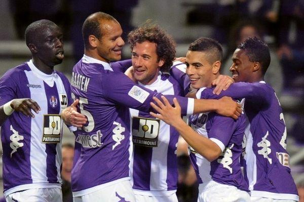 Les Toulousains aimeraient bien retrouver le parfum de la victoire comme ici contre Lyon