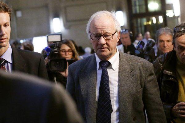 Pierre Pallardy, condamné à 8 ans de prison par la cour d'Assises de Bobigny.