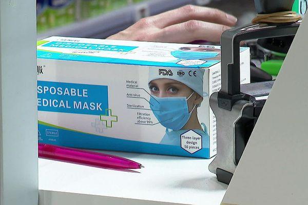 Gard - les pharmacies ont l'autorisation de vendre des masques chirurgicaux au grand public - mai 2020.