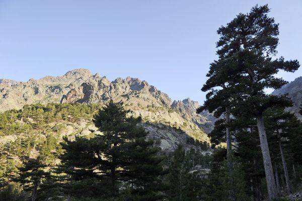 Le Monte Cinto, vu d'Asco, où le corps du randonneur a été retrouvé