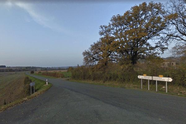 L'incident a eu lieu au lieu-dit Picoyne sur la commune de Bazian (Gers)