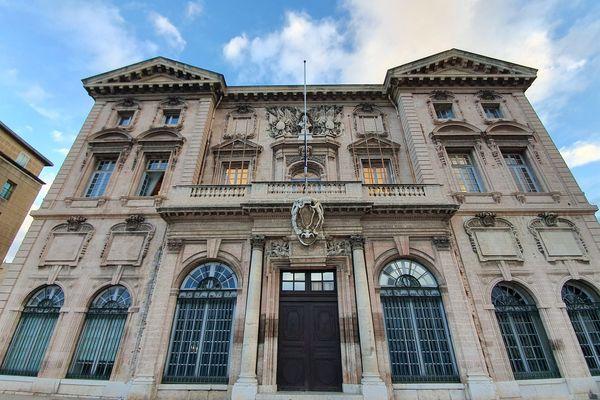 Illustration- La mairie de Marseille (Bouches-du-Rhône).